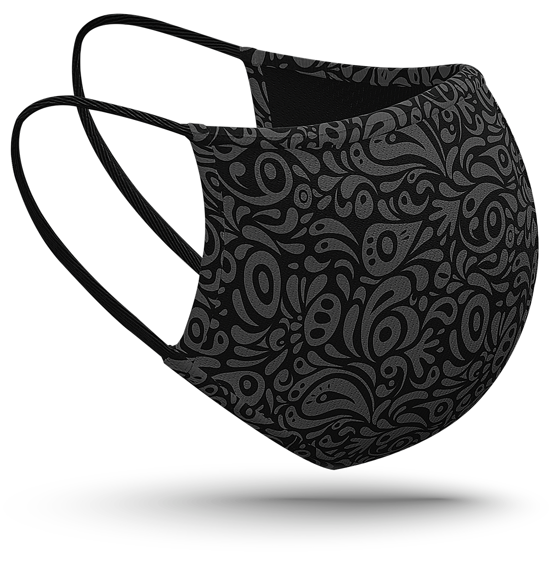 Gesichtsmaske mit HeiQ Viroblock